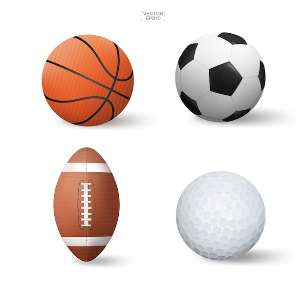 Sports ball set.