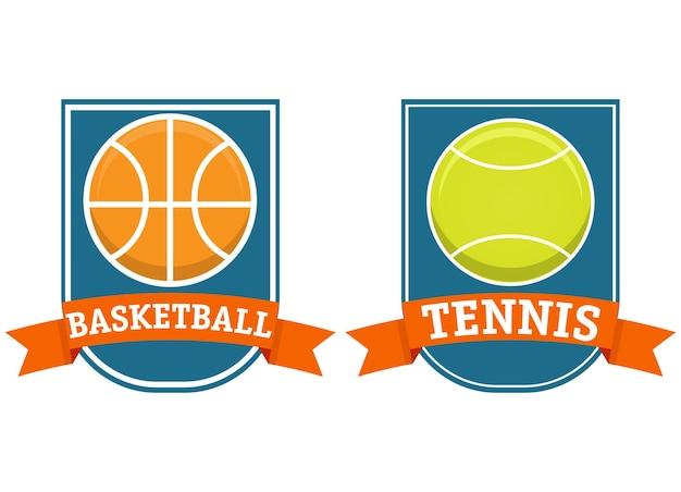 Спортивные баскетбольные теннисные мячи