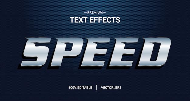 Sports editable text effect