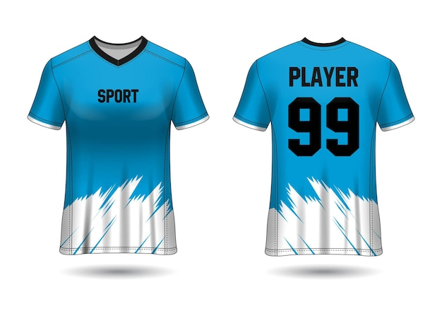 Sports jersey design for team uniforms