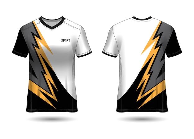 팀 유니폼을위한 스포츠 저지 디자인 템플릿