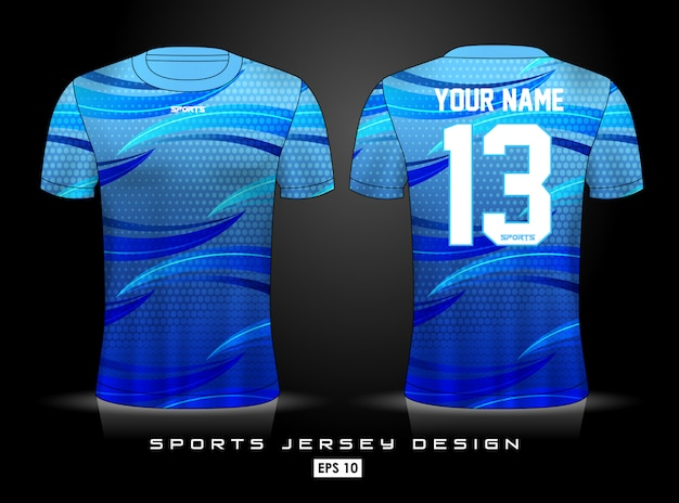 Sports jersey template