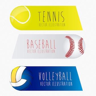 Sports labels,