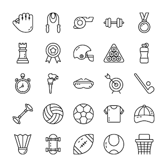 Sports vector icons pack