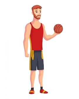 운동가. 농구 선수.