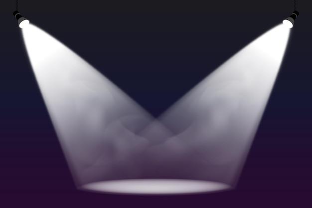 Spot lights background
