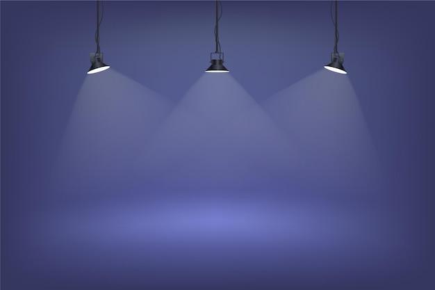 Точечный свет фон