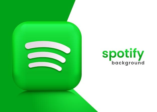 Spotify 로고 배경