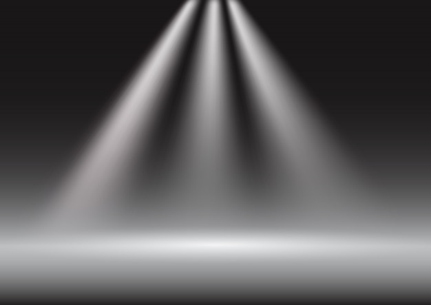 Spotlight display presentation background
