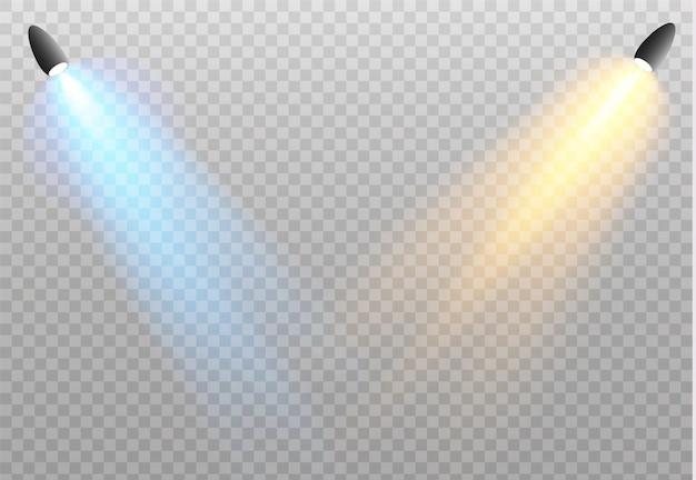 スポットライト白熱灯効果を分離しました。