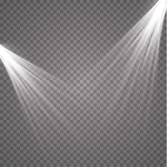 Прожектор. световой магический эффект