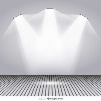 スポットライト部屋のデザイン