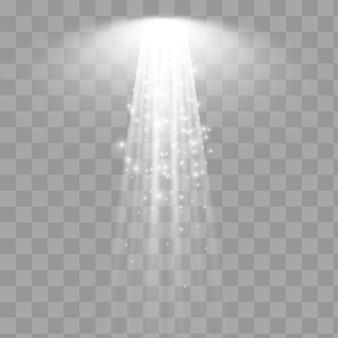 Spotlight.white 스포트라이트. 조명 효과. eps 10