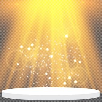 Прожекторы и блеск на сцене