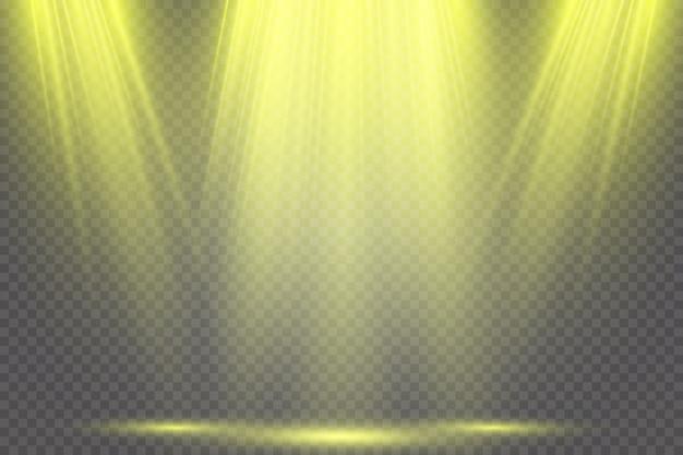 Spotlights. scene. light effects.