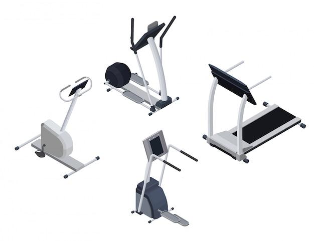 Spots cardio isometric equipment