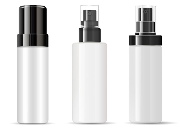 Spray bottle cosmetic package  plastic blank