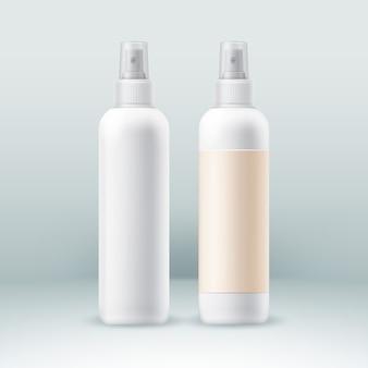 Аэрозольные баллончики для парфюмерной косметики.