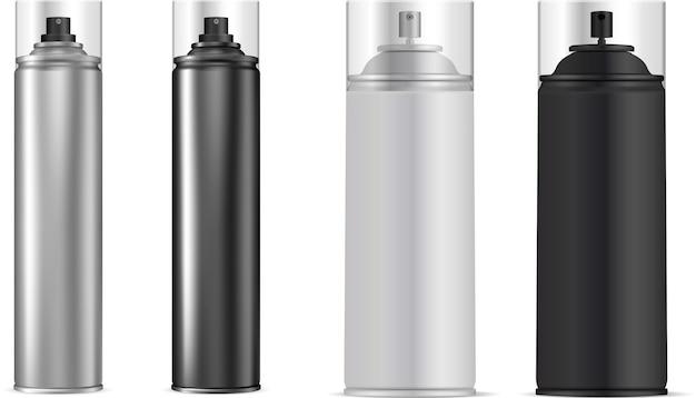 Spray tin. aerosol bottle