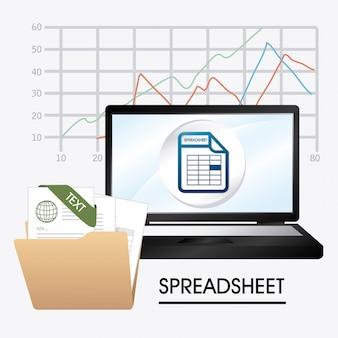 Spreadsheet design.