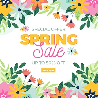 Spring best sale offers and field flowers