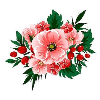 Spring bouquet for floral design