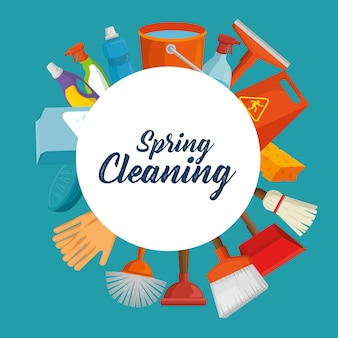 春の大掃除