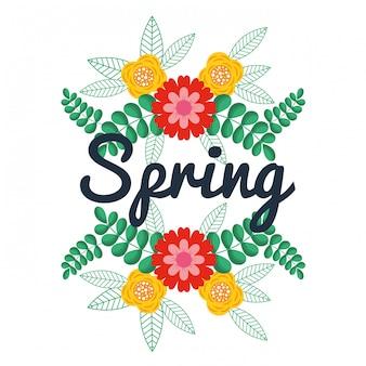 Spring floral decoration