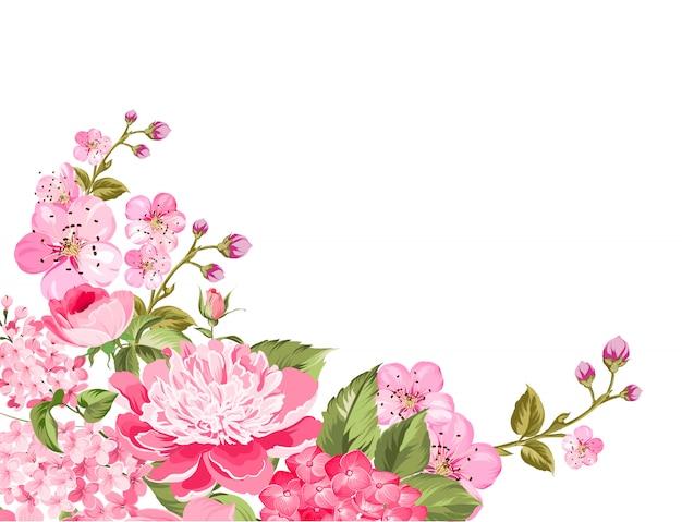 Spring floral flowers