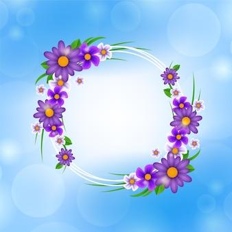 봄 꽃 프레임