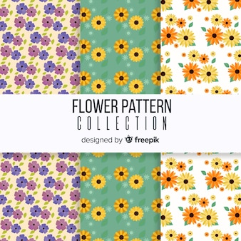 Spring floral pattern collection