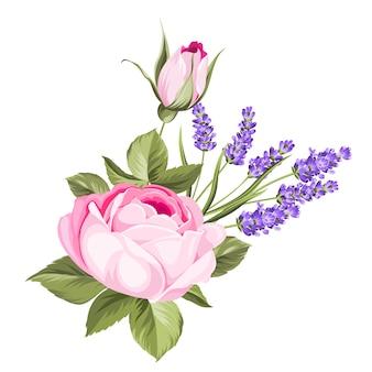 Букет весенних цветов.