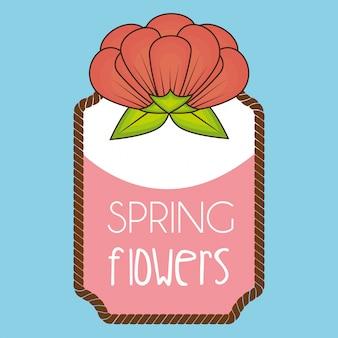 春の花 無料ベクター