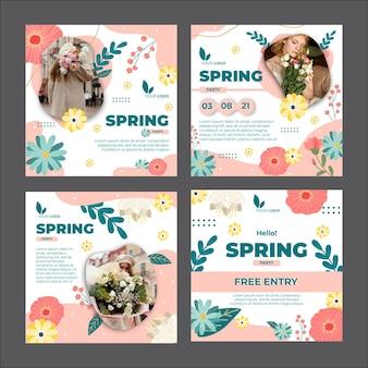 봄 instagram posts