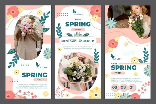 Storie di instagram di primavera