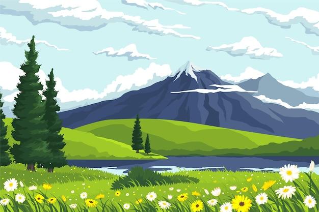 Весенний пейзаж