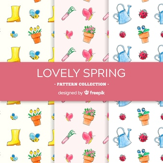 Spring pattern collection