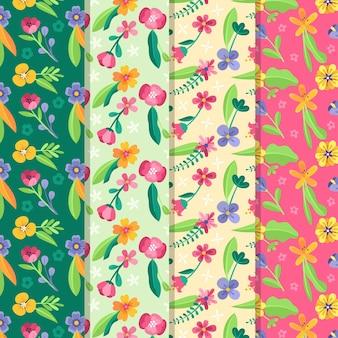 봄 패턴 컬렉션