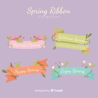 Spring ribbon collection