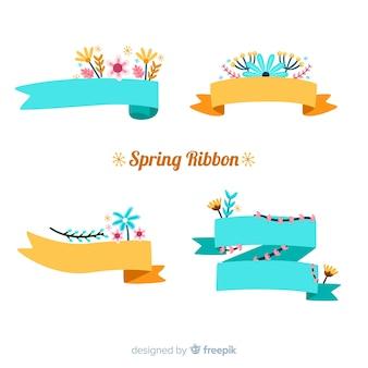 Spring ribbon pack