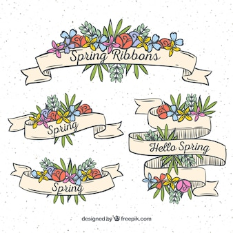 Spring ribbons collection