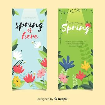 봄 판매 배너