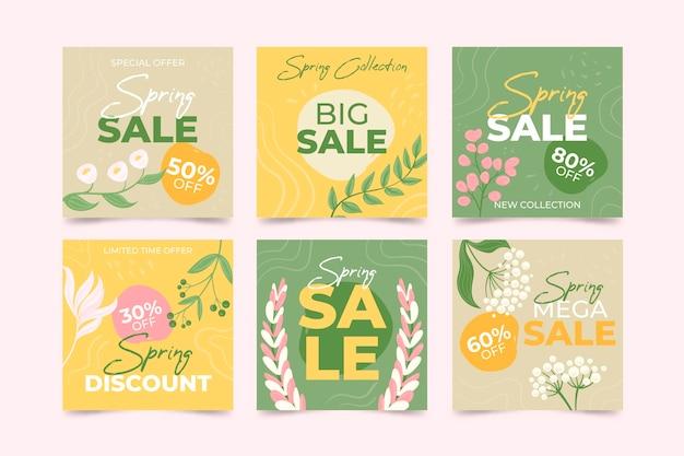 Посты в instagram о весенних распродажах