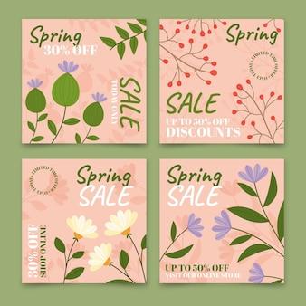 春のセールinstagramの投稿