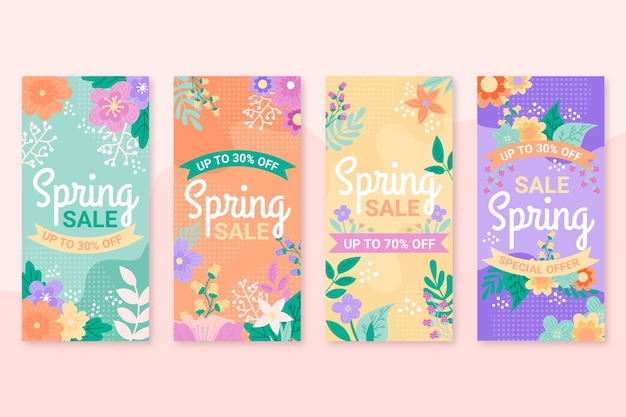 Spring sale instagram story collection