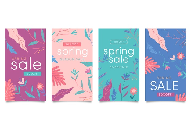 Spring sale stories collection
