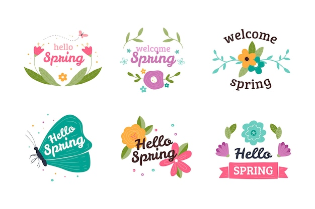 Концепция коллекции лейбла spring