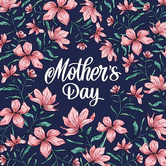 Весенний цветочный день матери