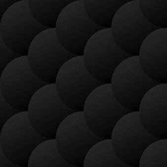 Абстрактные векторные squamous dark бесшовные шаблон