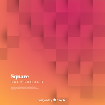 Square background